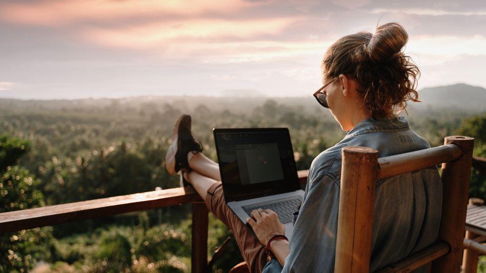 Das Hobby Reisen sollte man nur unter bestimmten Bedingungen in einer Bewerbung erwähnen