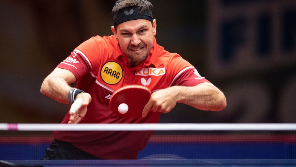 Timo Boll ist auch mit 39 Jahren immer noch nur schwer zu schlagen