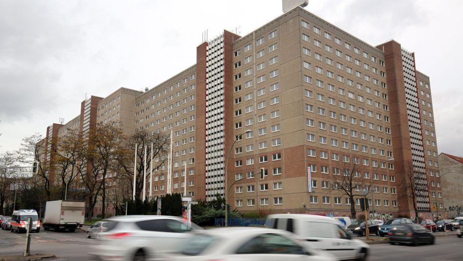 Früheres Stasi-Ministerium in Berlin: Rund 500 Flüchtlinge sollen hier eine vorübergehende Bleibe finden