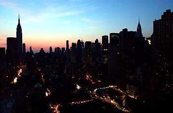 Stromausfall in Nordamerika: plötzlicher Spannungsabfall