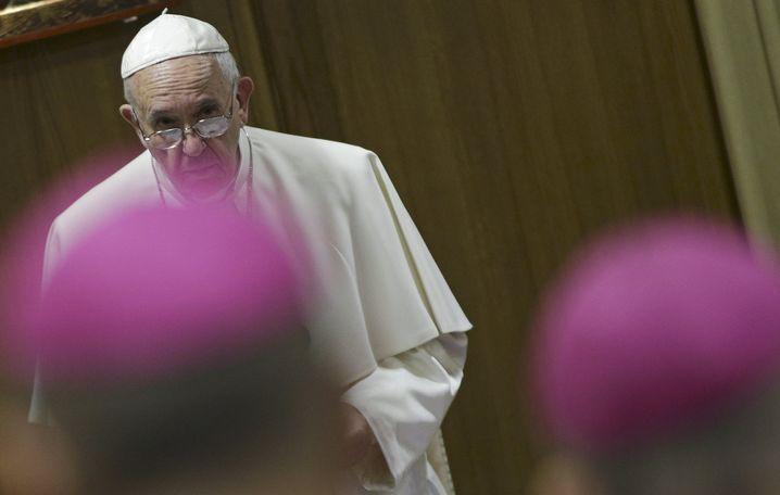 """Papst Franziskus: """"Ideologische Schlacht"""" im Vatikan"""