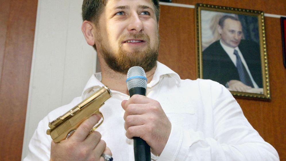 Photo Gallery: The Long Reach of a Chechen Strongman