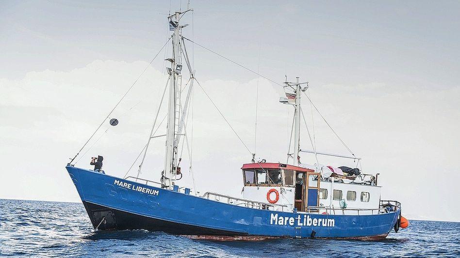 """Rettungsschiff """"Mare Liberum"""" in der Ägäis 2018: Vor Gericht zweimal recht bekommen"""