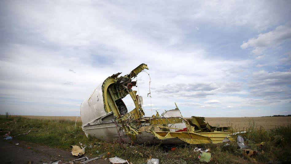 Wrackteil von Flug MH17: Informant soll sich gemeldet haben
