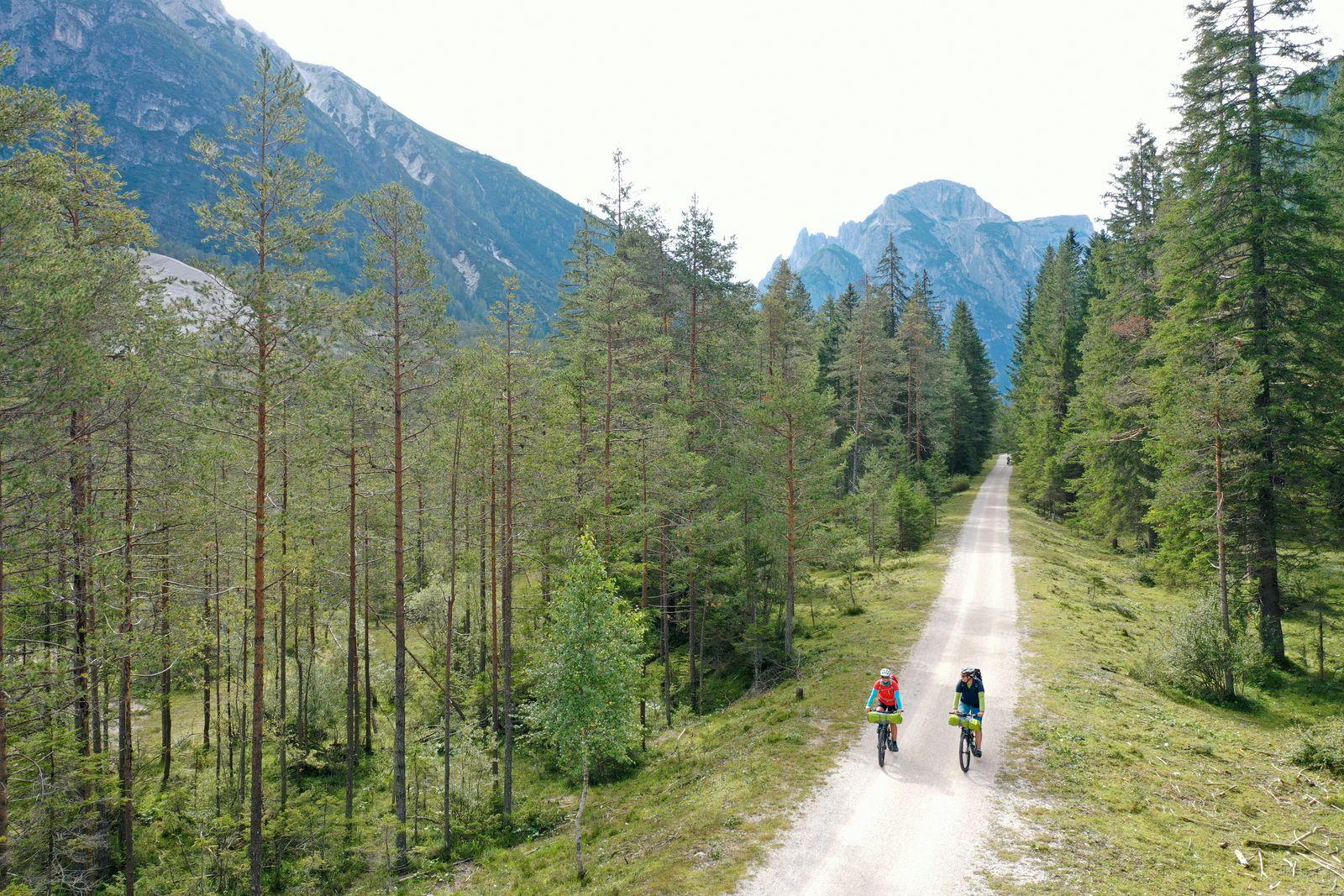 München-Venedig - Radweg bei Toblach in den Dolomiten - Thorsten Brönner