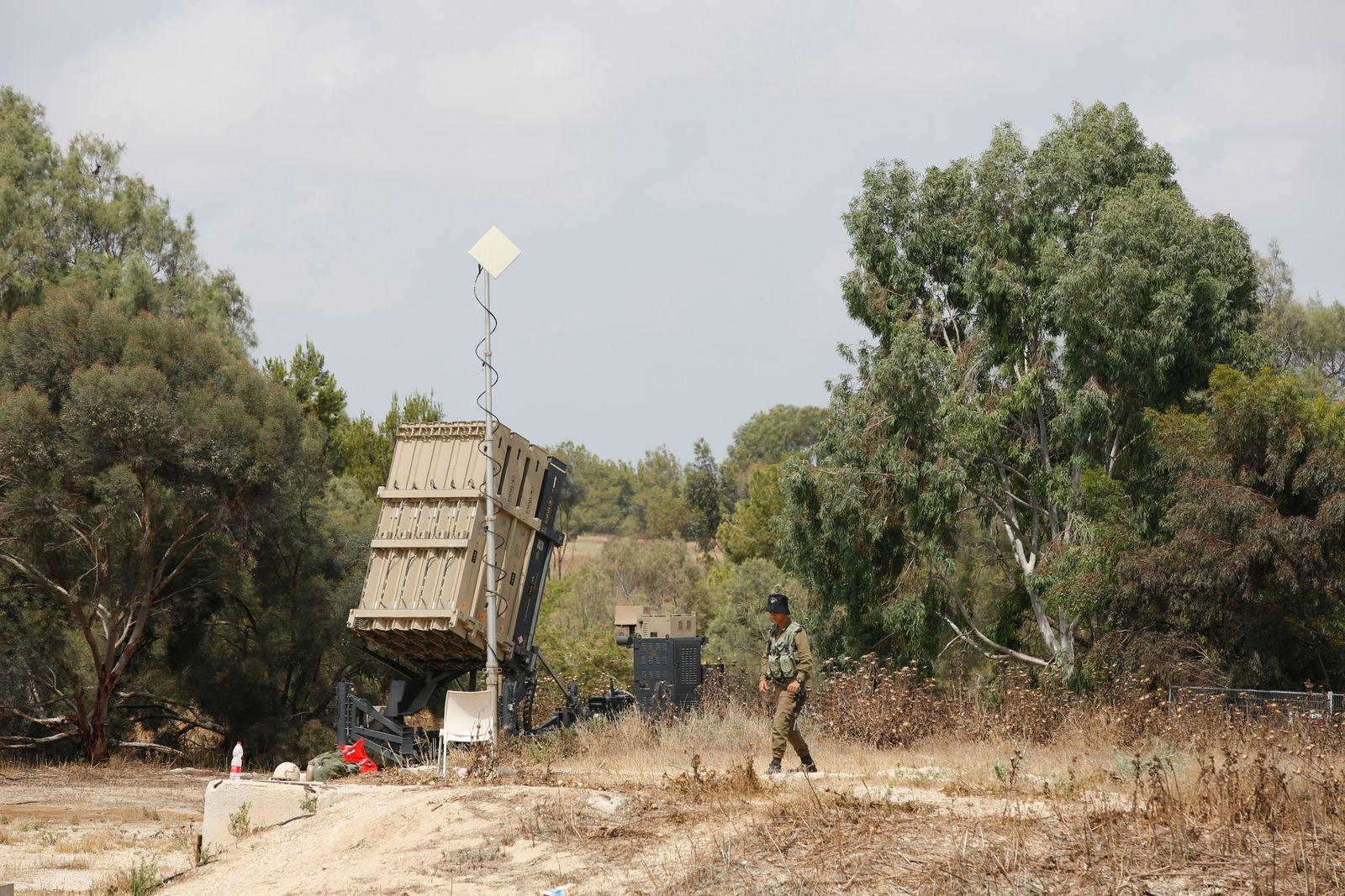 Israel/ Abfangraketen/ Iron Dome