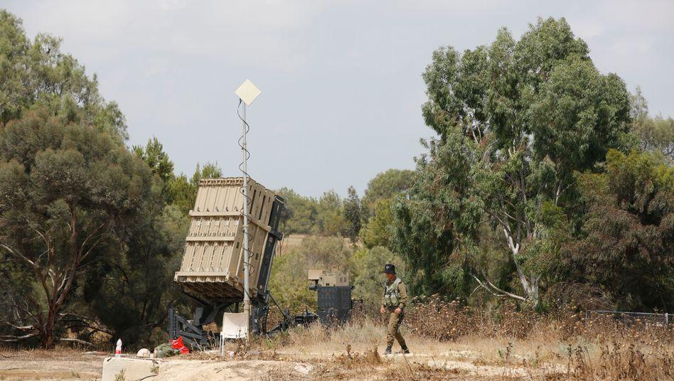 Israelisches Raketenabwehrsystem