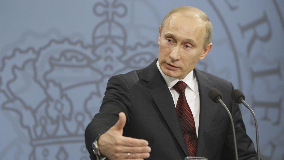 Russlands Regierungschef Putin: Deutsche Politiker halten Preis für nicht gerechtfertigt