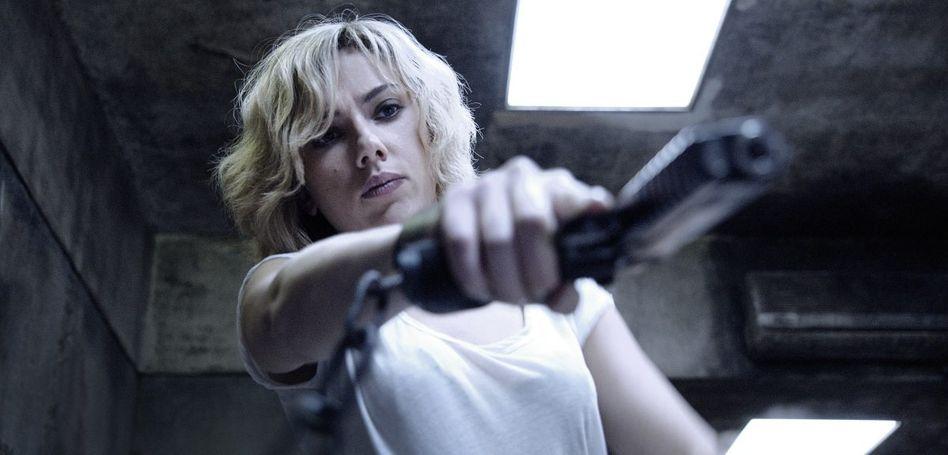 Schauspielerin Johansson in »Lucy«