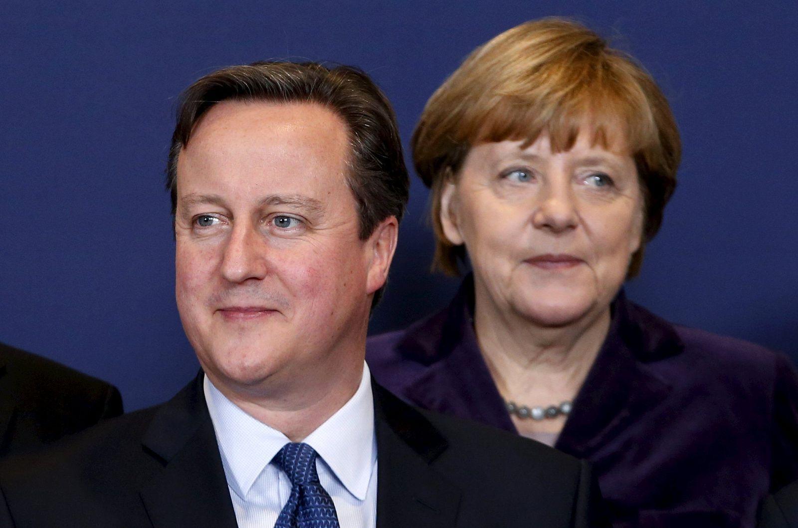 David Cameron / Angela Merkel