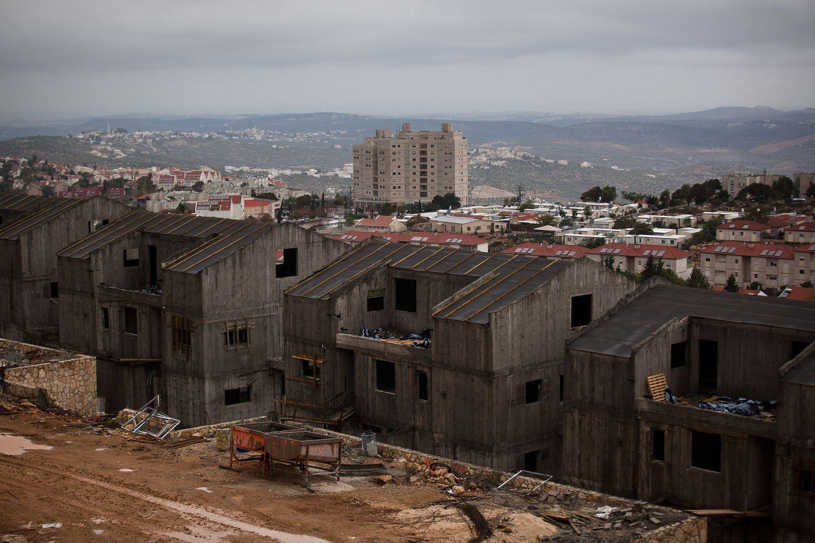Westjordanland Siedlungsbau