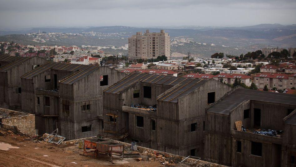 Israelische Siedlung in besetzten Gebieten: Baupläne werden forciert
