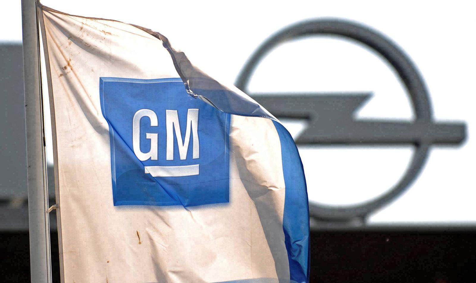 NICHT VERWENDEN General Motors muss Opel-Sanierungskonzept offenbar nachbessern