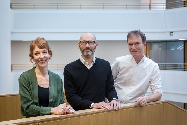 Barbara Hans, Steffen Klusmann, Clemens Höges