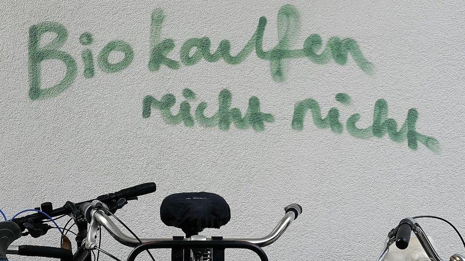 Graffito in Berlin: »Moral ist eine Klassenfrage«