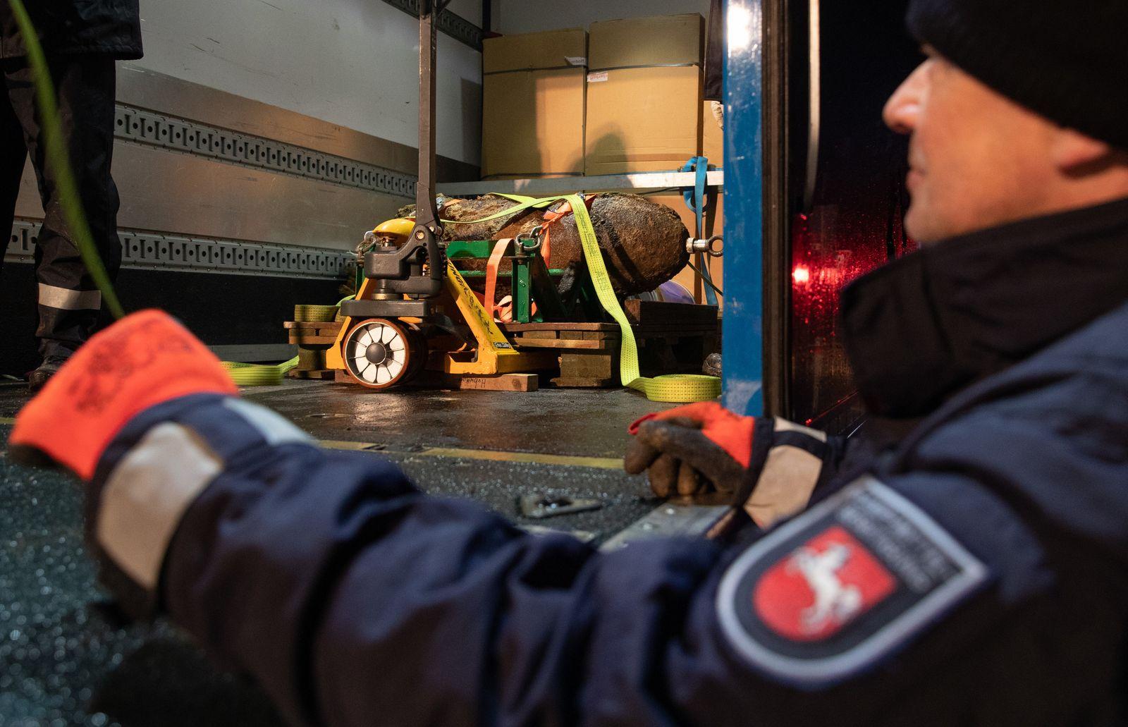 Bombenblindgänger in Osnabrück - Evakuierungsaktion