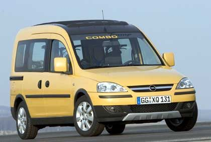 Opel Combo Tramp: Offroad-Outfit ohne Allrad