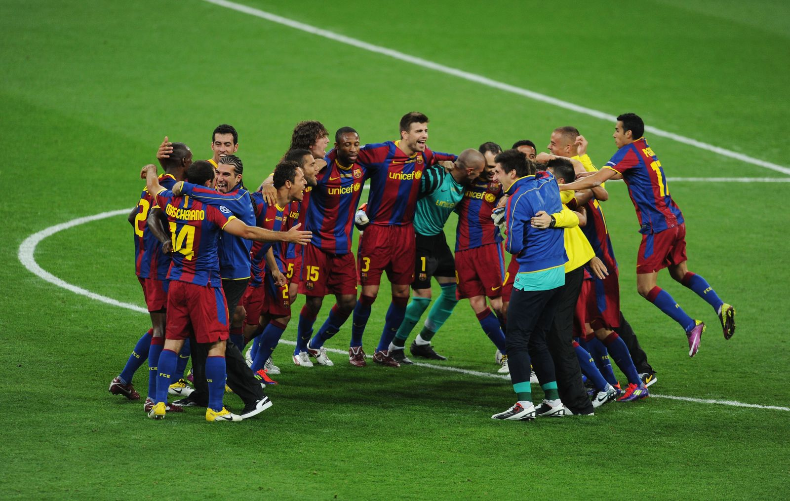 FC Barcelona/Jubel
