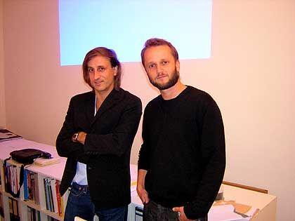 Der Direktor und sein Referent: Rafael Horzon (r.) und Christoph Keller
