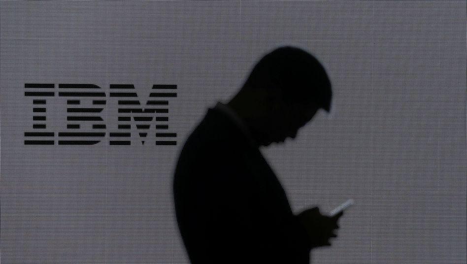 IBM-Logo (Symbolbild): Lukrative Verträge mit dem Staat