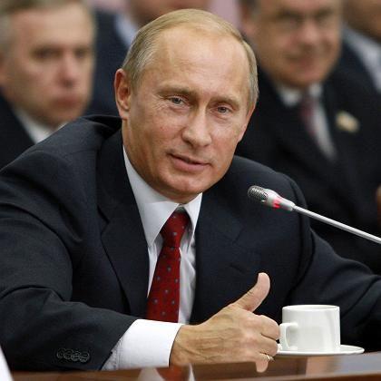 """Russlands Ministerpräsident Putin: """"Treffer für Sie"""""""