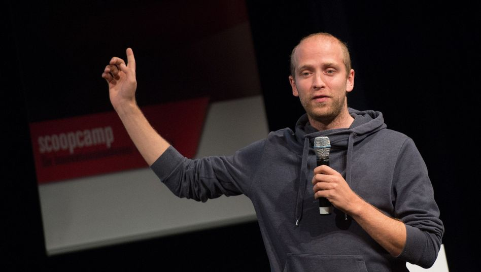 Blendle-Gründer Marten Blankesteijn: Etwas mehr als die Hälfte der Nutzer in Deutschland ist jünger als 35 Jahre