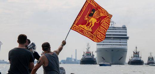 Venedig verbannt große Kreuzfahrtschiffe aus seinem Hafen
