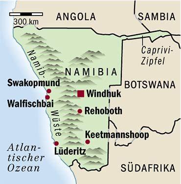 Namibia: Die Namib ist die zweitgrößte Wüste der Welt