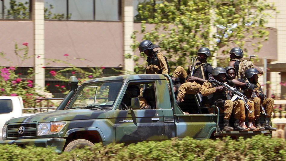 Sicherheitskräfte in Burkina Faso (Archivbild)