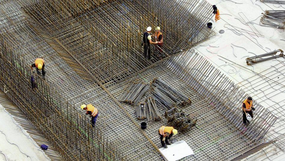 Bauarbeiter in Berlin