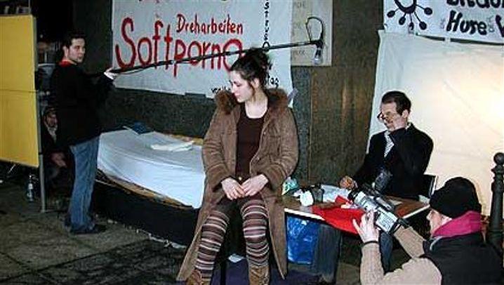 Leipziger Protestaktion: Studenten drehen Soft-Porno