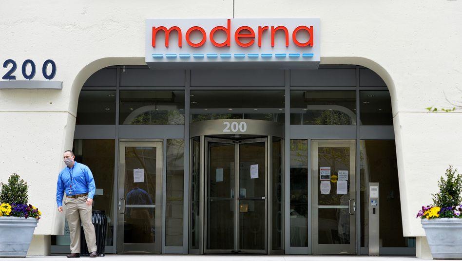 Moderna-Zentrale in Cambridge (Massachusetts): Partnerschaft soll bestehen bleiben