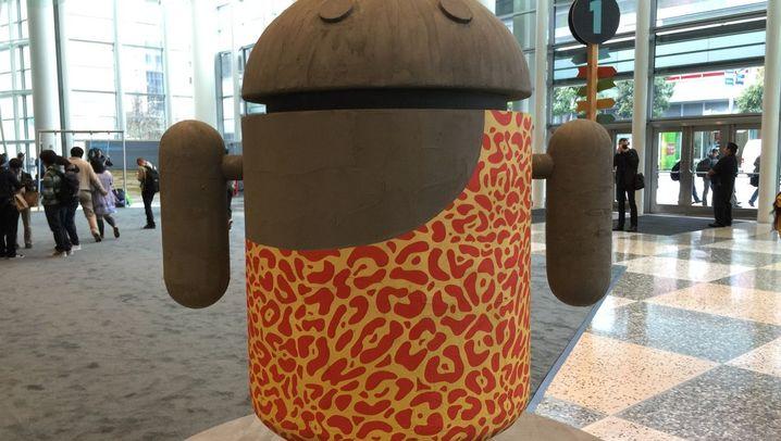 Vor Ort in San Francisco: So sieht es bei der Google I/O aus