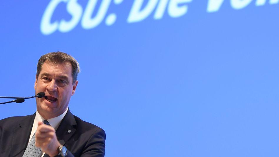 """Markus Söder: Von Kramp-Karrenbauers Vorschlag """"überrascht"""""""
