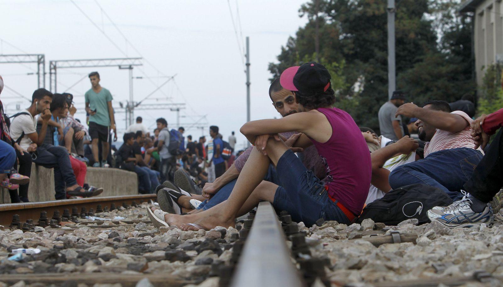 mazedonien flüchtlinge