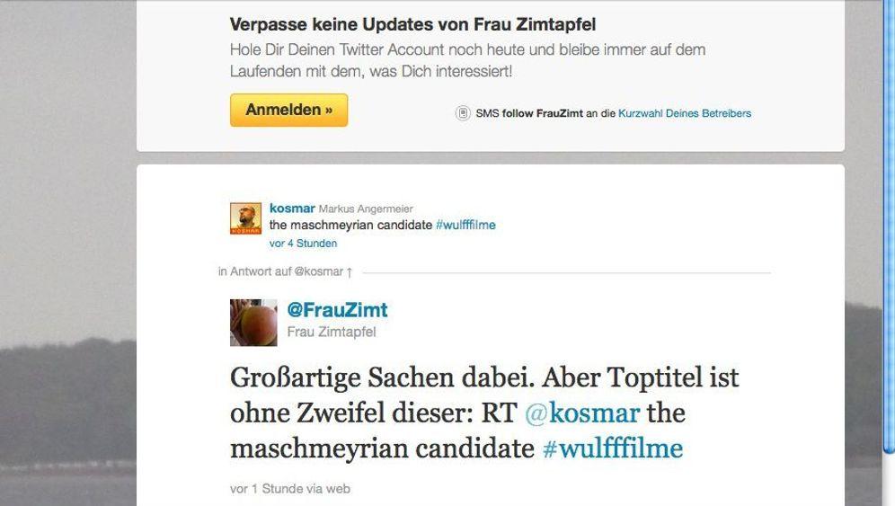 #wulfffilme: So spotten Twitter-Nutzer über Wulff