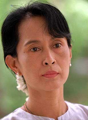 Immer noch in Haft: Aung San Suu Kyi