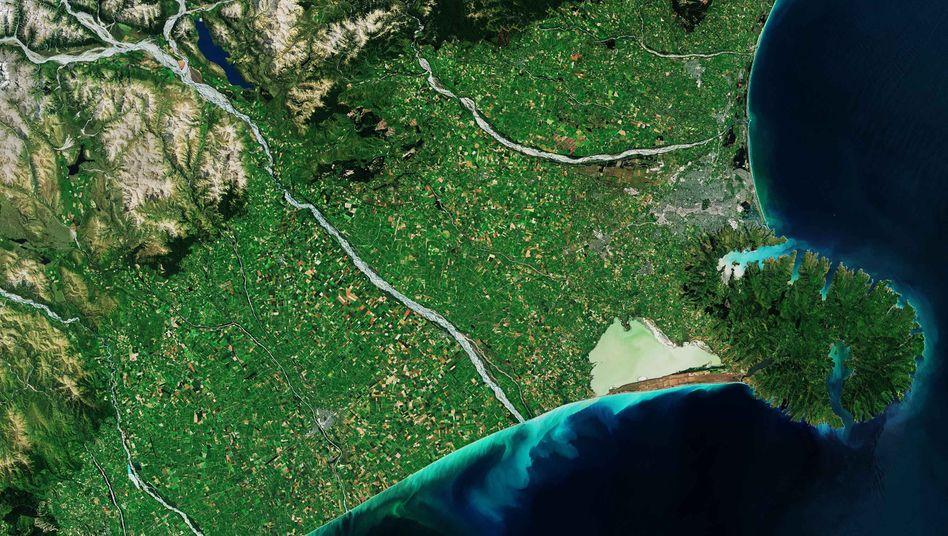 Banks Peninsula auf NeuseelandsSüdinsel