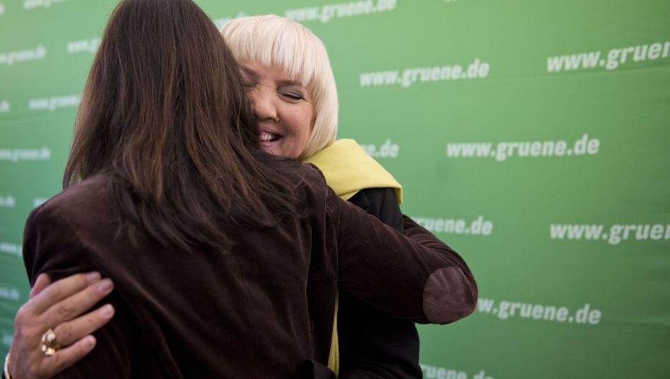 Erneute Kandidatur für Parteivorsitz: Grüne bejubeln Roths Kampfeswillen