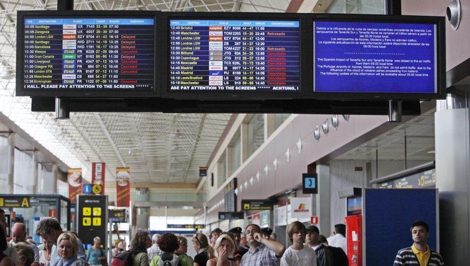 Flugreisende auf Teneriffa: Entwarnung für die nächsten Tage