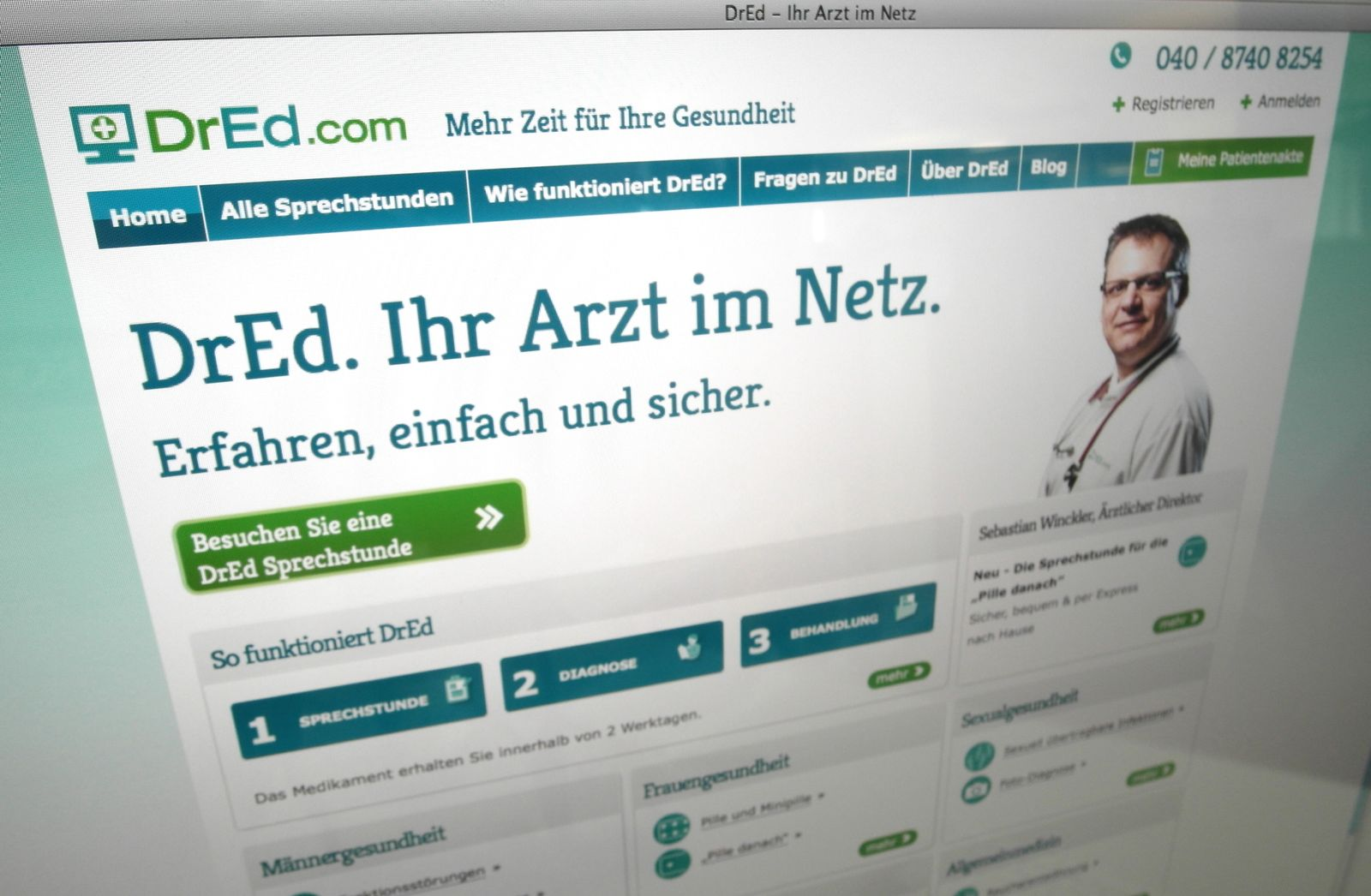 SCREENSHOT Dr Ed / Arzt im Netz