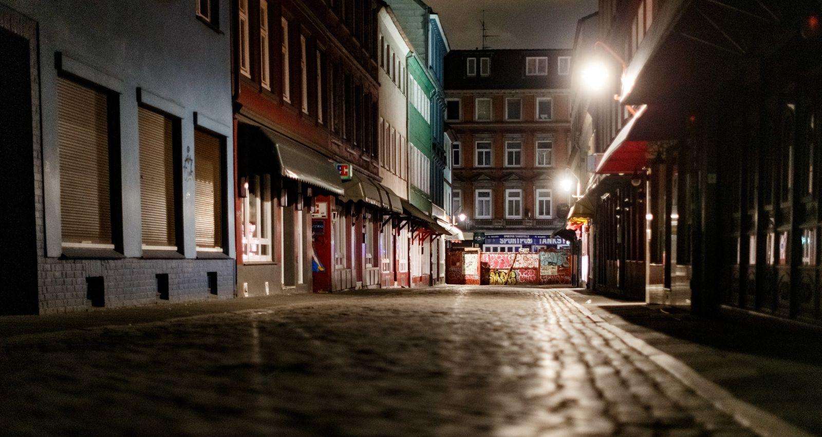 Coronavirus - Ausgangsbeschränkung in Hamburg