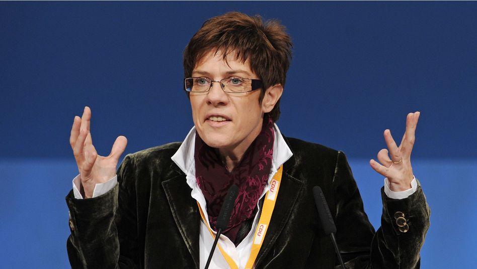 Annegret Kramp-Karrenbauer: Regierung gescheitert