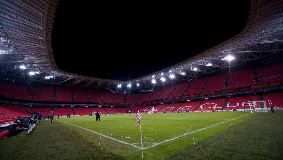 Im Stadion San Mames in Bilbao werden 2021 keine Spiele der Fußball-EM stattfinden.
