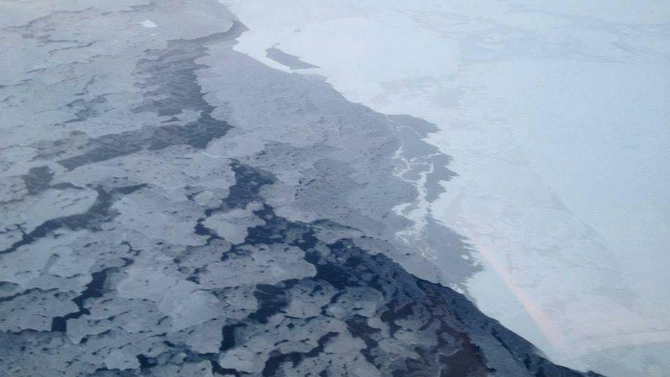 """Arktisches Meereis (2013): """"Deutlich kühler als die Vorjahre"""""""