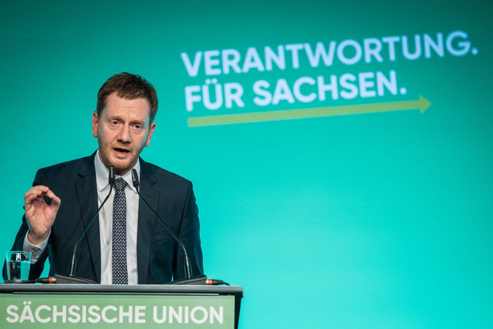 Sachsen-CDU stimmt über Koalition ab