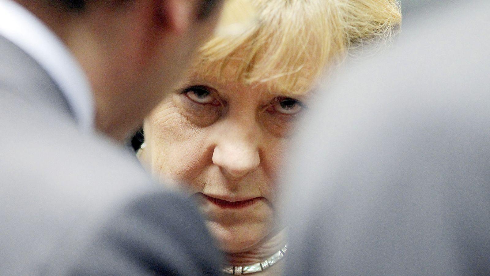 EU Finanz-Krise / Merkel
