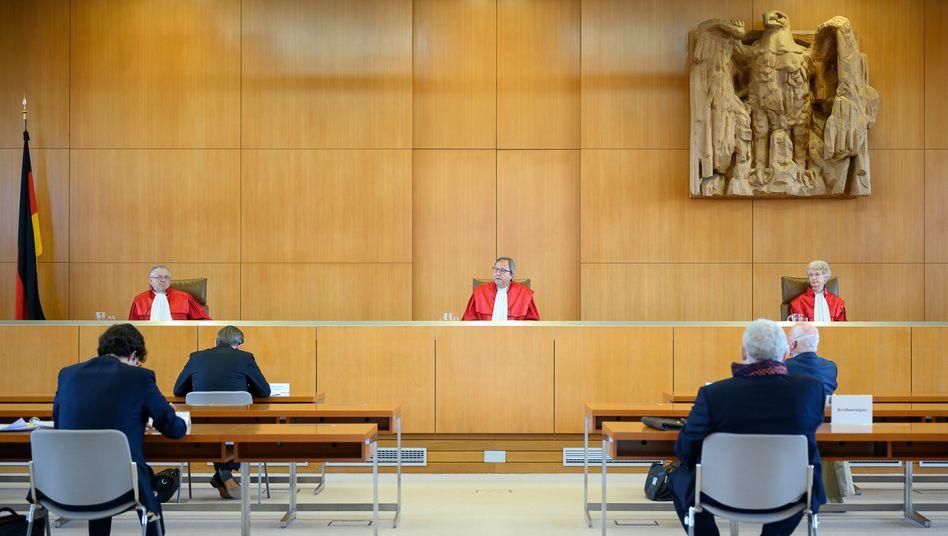 Verfassungsrichter Voßkuhle verkündet das Urteil: Ein Weckruf für Europas Regierungen