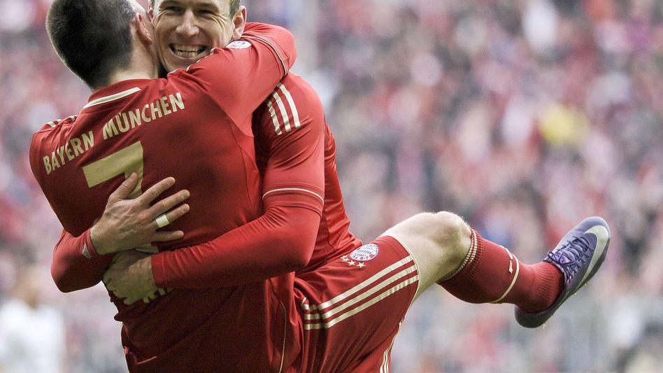 """Bayern-Profi Robben (r.): """"Rücktritt? Absolut nicht!"""""""