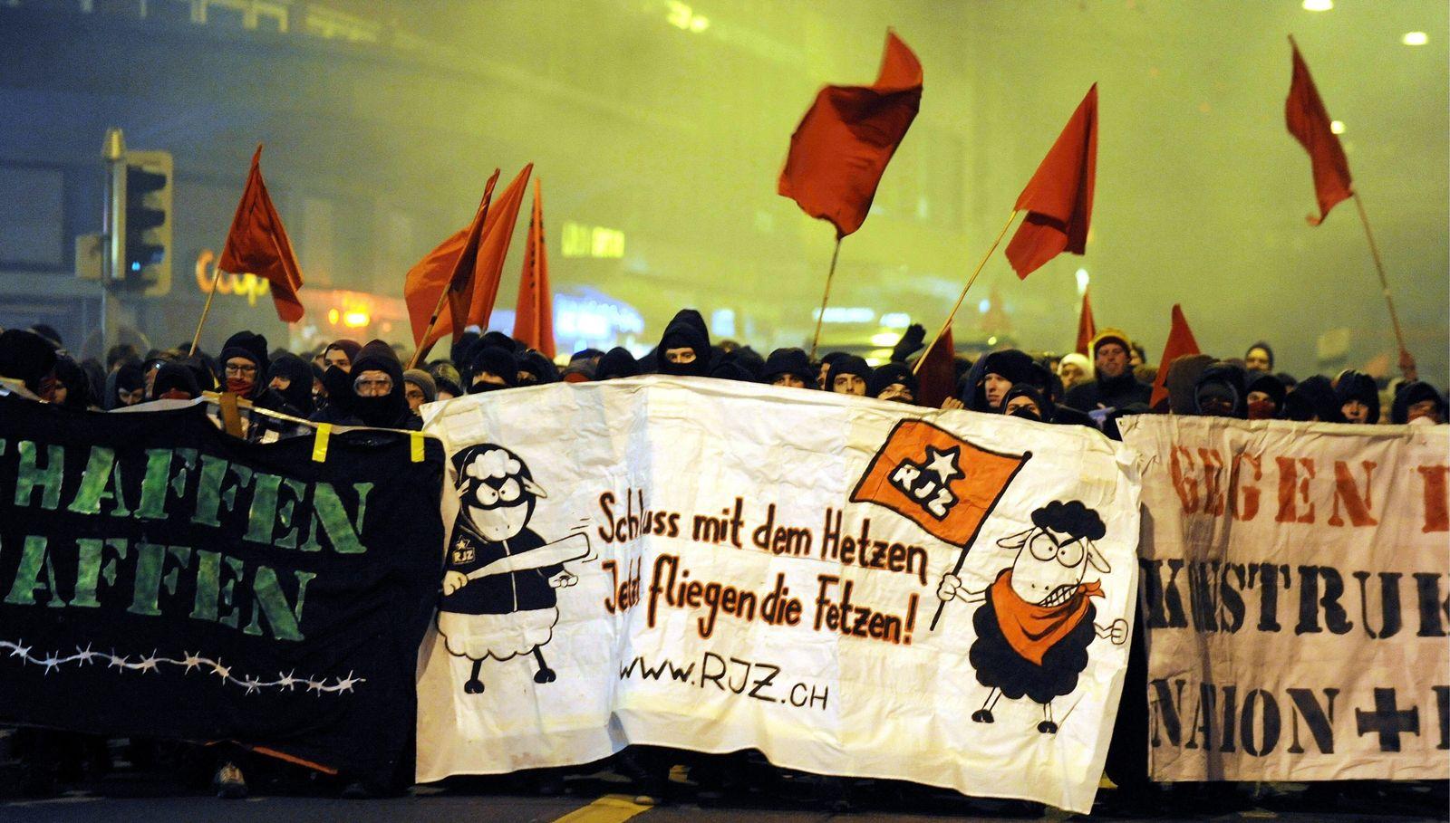 Schweiz/ Ausländergesetz/ Demo